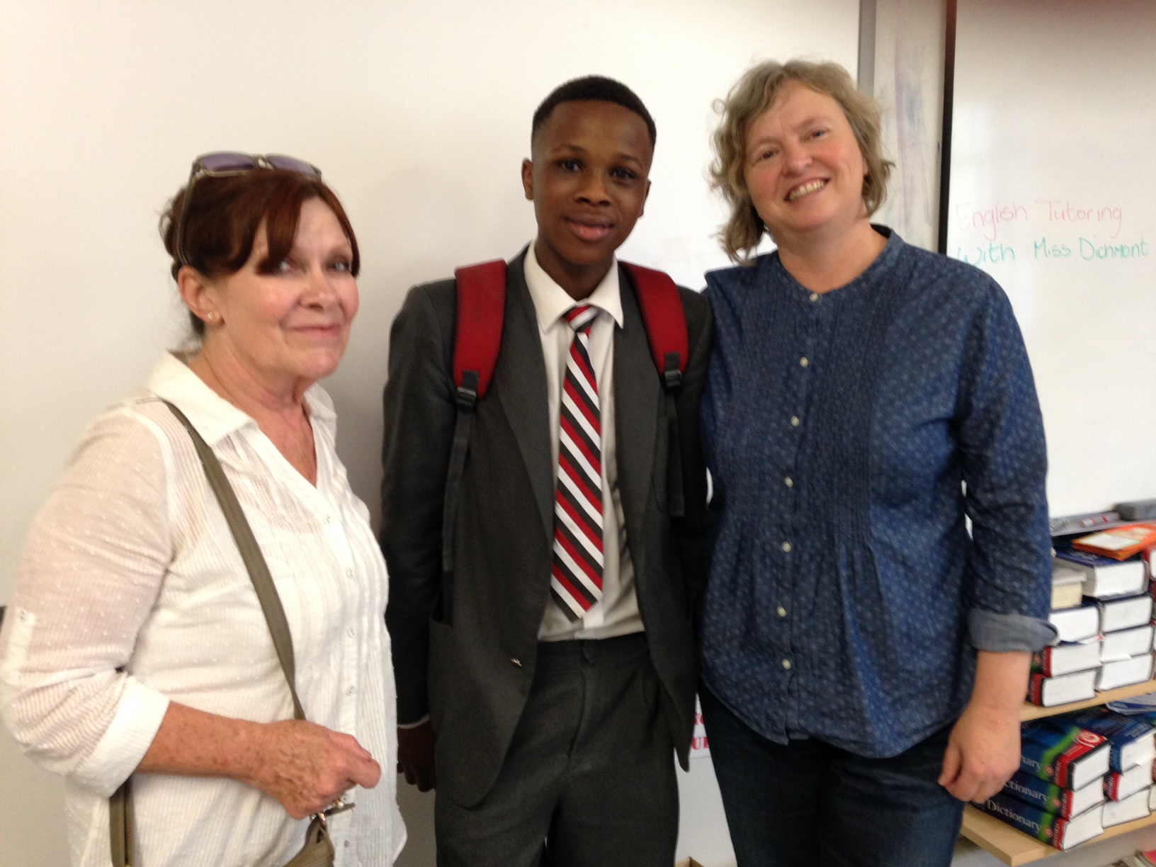 Harmony High Author visits Claremont High