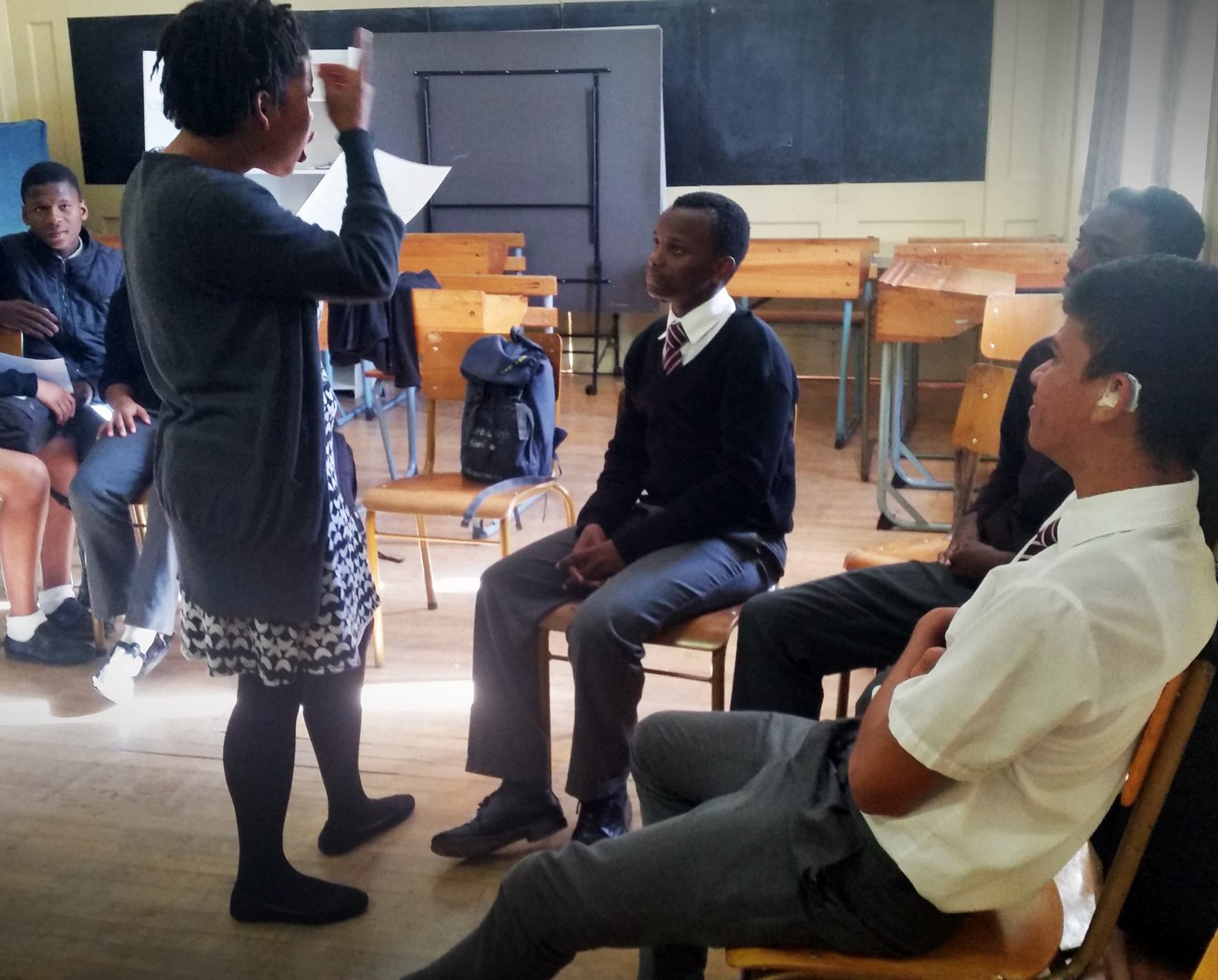 Storytelling with deaf learners