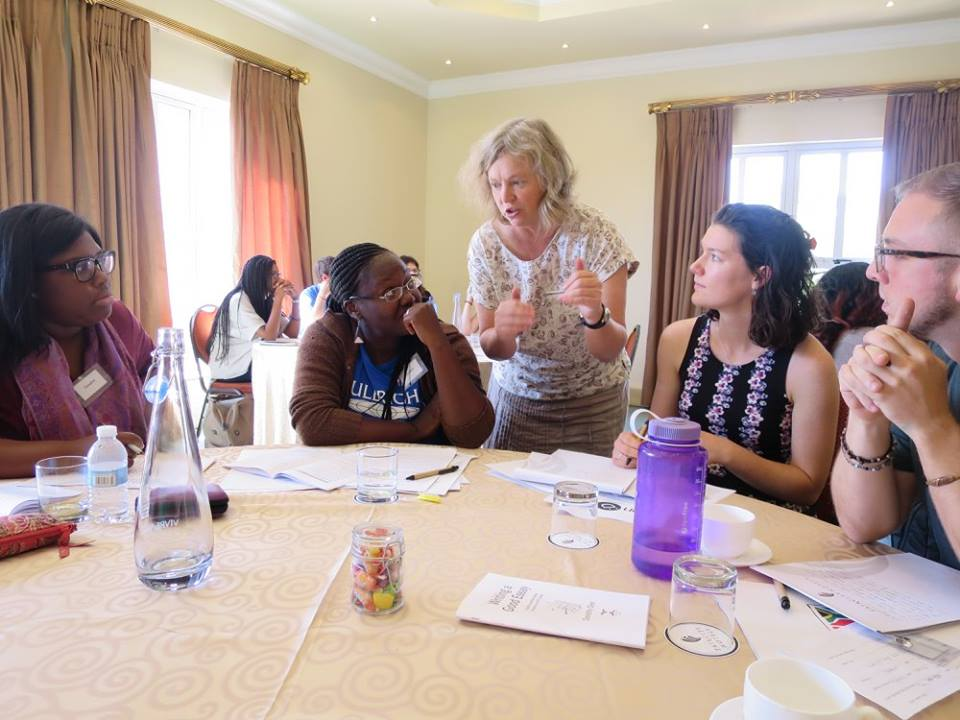 FunDza workshop for Fulbright scholars volunteering at SA schools