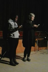 Mpume and Ros Haden at the Himeville Arts Festival