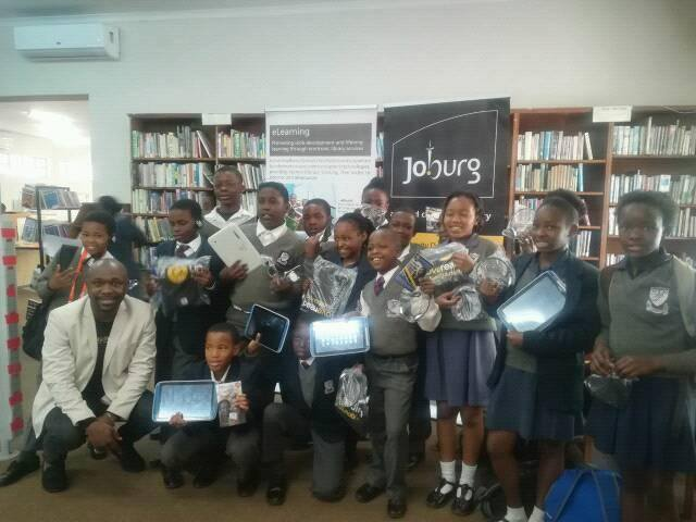 Photo credit: City of Joburg Libraries eLearning unit