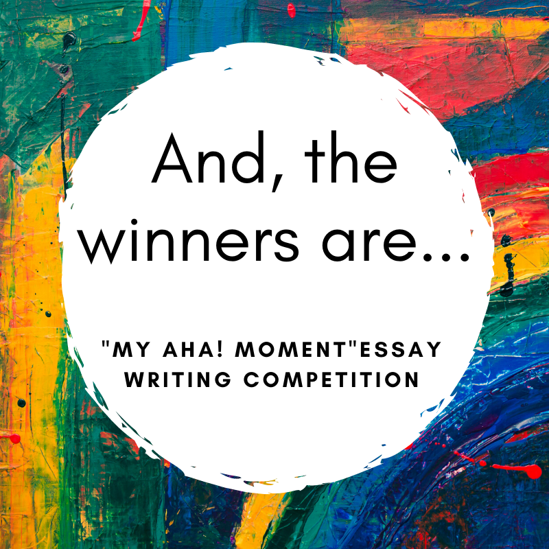 Meet the winners of 'My AHA! Moment' essay writing competition