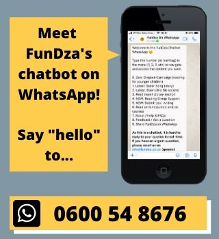 Meet the FunDza Chatbot