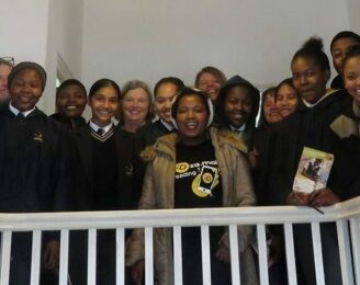 FunDza hosts 6 students as part of Cell C's 'Bring a girl child to work' day