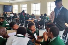 Writing good essays at Isikhokelo Primary School