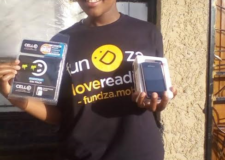 FunDza phones on the go!